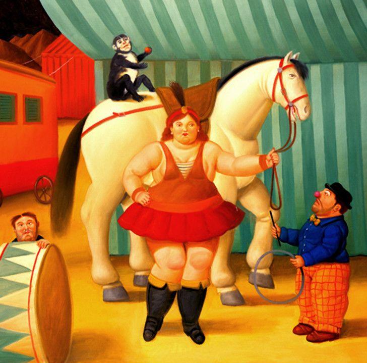Fernando Botero - Circus People