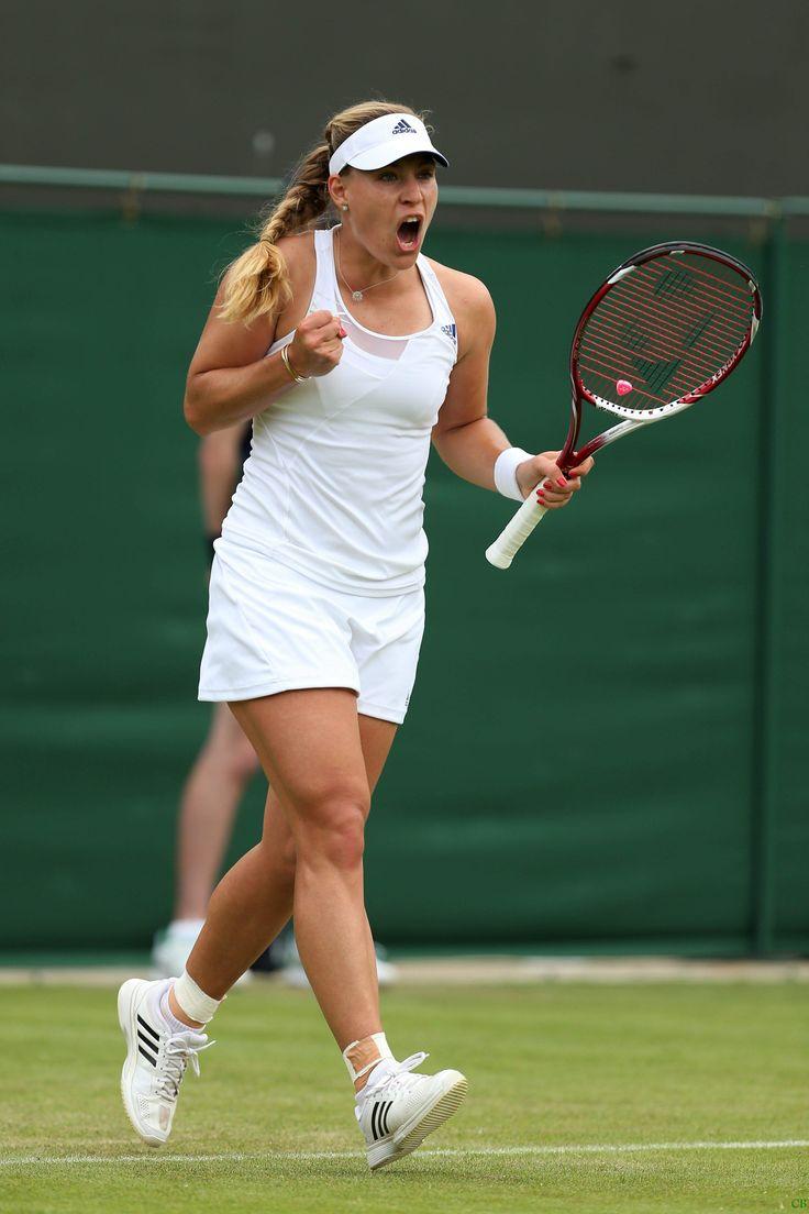 Angelique Kerber First round match on day two of the Wimbledon Tennis Championships June 25-2013 #WTA #Kerber #Wimbledon