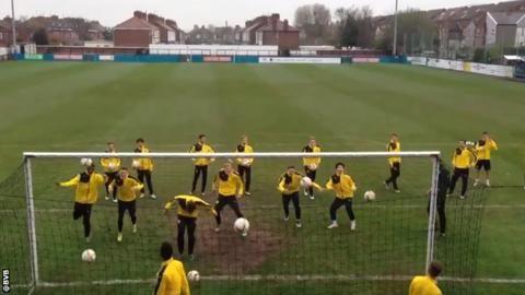 Europa League: Borussia Dortmund prepare for Liverpool tie at non-league Marine