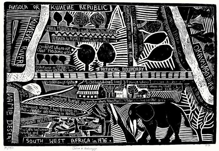 Angola or Kunene Republic (1976) - Revisions