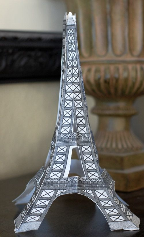 Printable Paper Toys: Eiffel tower & much more! | Children ...