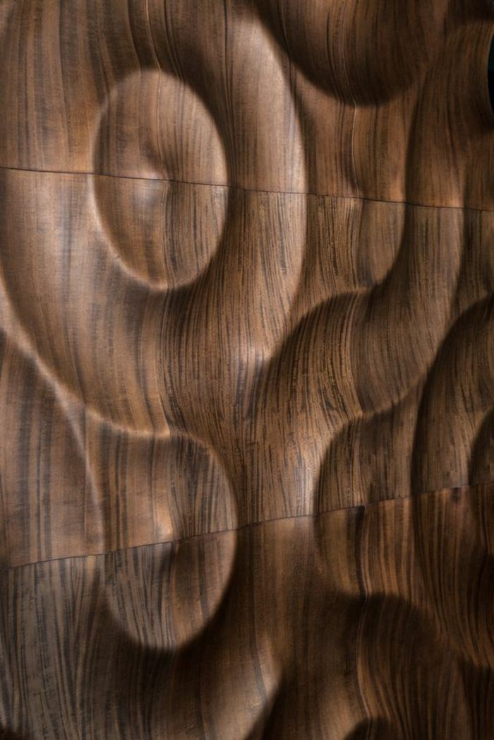 kreative wandgestaltung holzverkleidung innen deko ideen kunstvoll - Gemutliche Holzverkleidung Innen