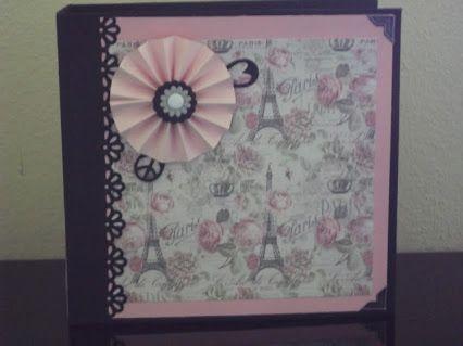 Mini album Sweet Paris