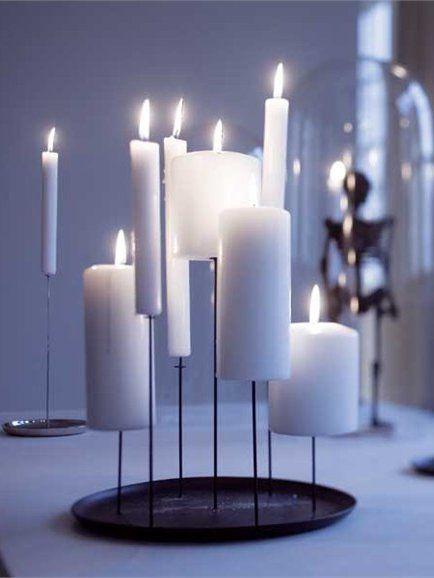 Holiday Gift: Scandinavian Modern Candelabras