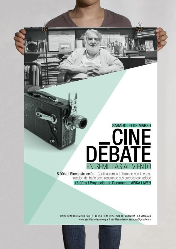 Flyer   ONG Movimiento Ecológico by Vero Papasidero, via Behance