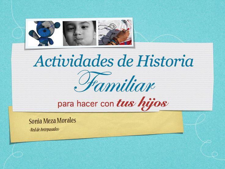 Historia Familiar Niños
