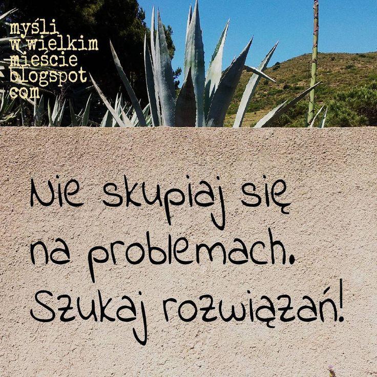 Bedziesz mieć mniej problemów i więcej czasu! ;) #motywacja #inspiracja #cytat #lifehack #problem #rozwiązanie