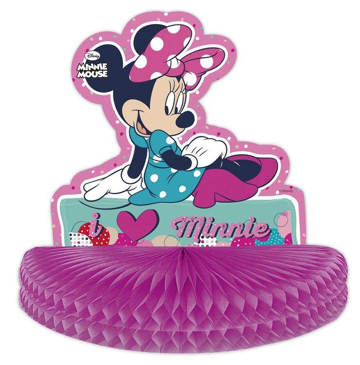 Centrotavola con Minnie su VegaooParty, negozio di articoli per feste. Scopri il maggior catalogo di addobbi e decorazioni per feste del web,  sempre al miglior prezzo!