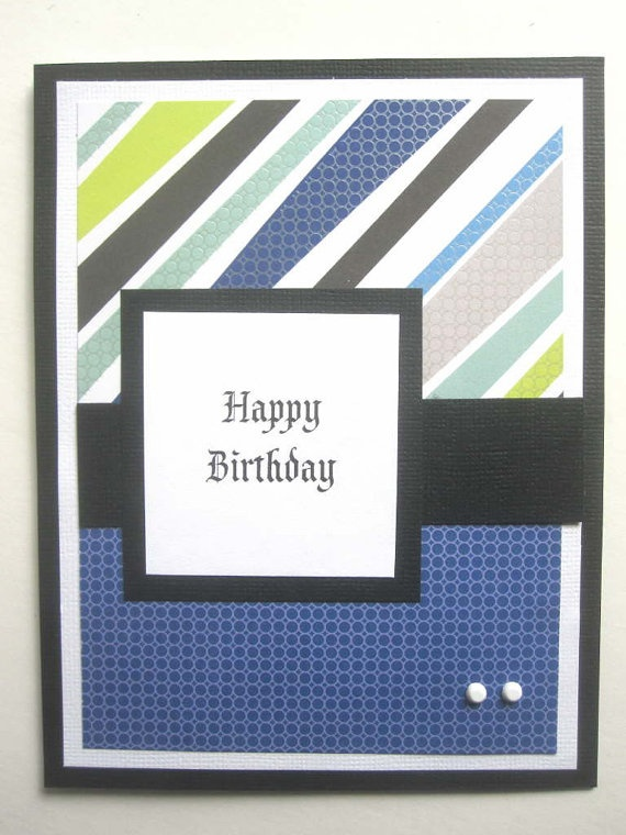 Birthday card for boy