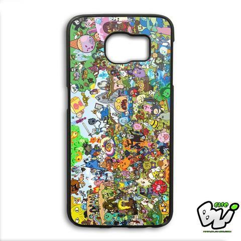 Adventure Time Samsung Galaxy S6 Edge Case