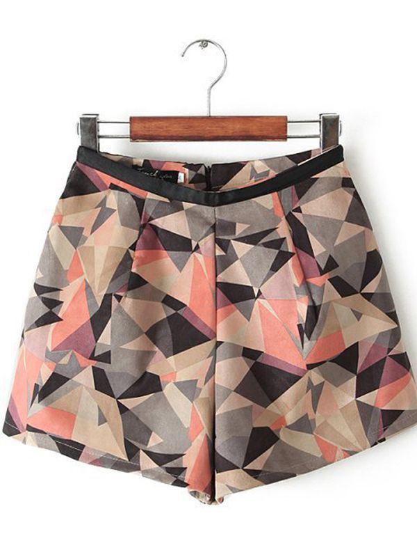 Mini Fashion Plain Shorts : KissChic.com