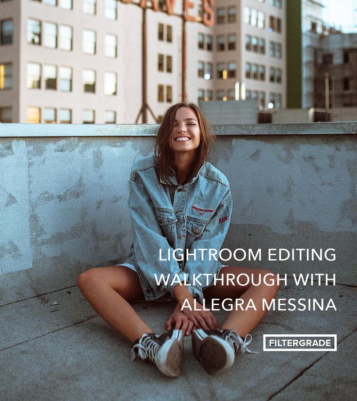 A step by step photo editing walkthrough in Adobe Lightroom with Allegra Messina