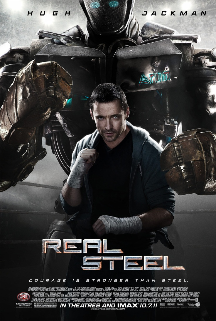 Reel Steel - Set in the near future, where robot boxing is a top sport, a struggling promoter feels he's found a champion in a discarded robot. During his hopeful rise to the top, he discovers he has an 11-year-old son who wants to know his father.