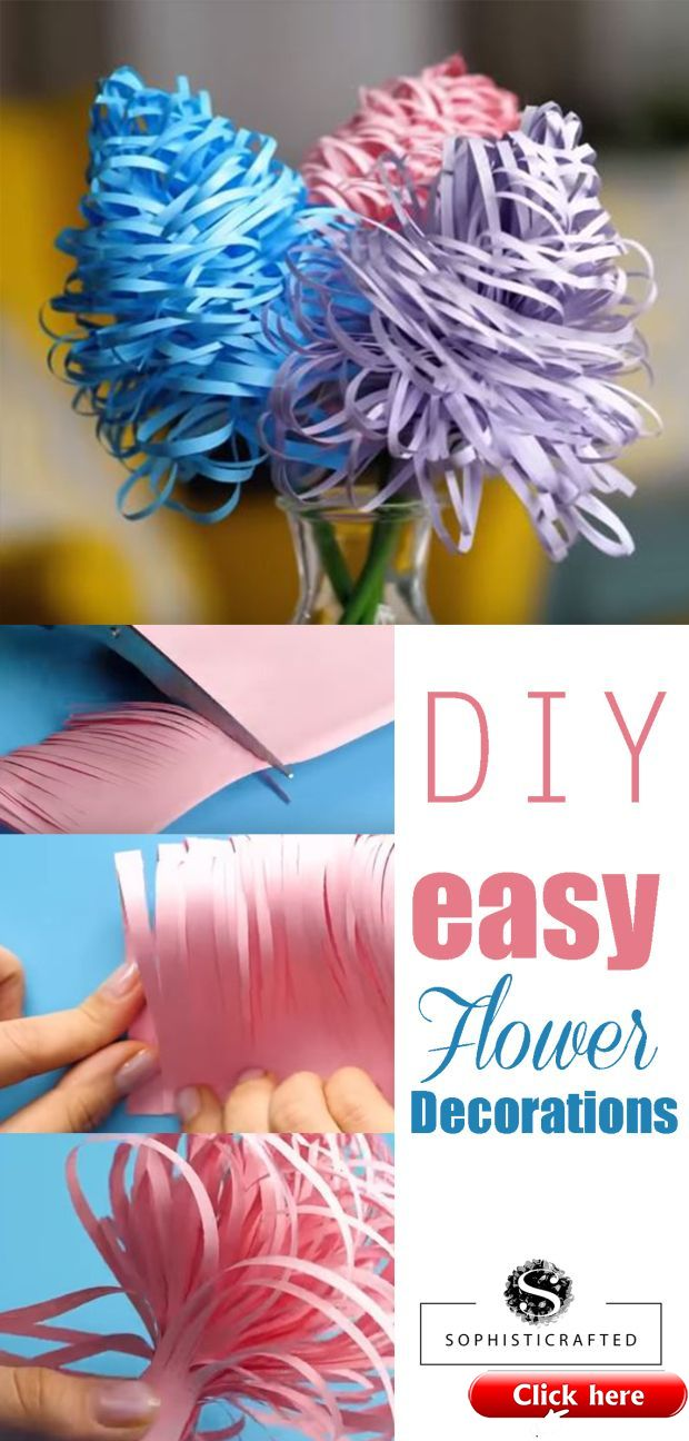Diy Easy Paper Flower Decoration For Wedding Birthday Party Or