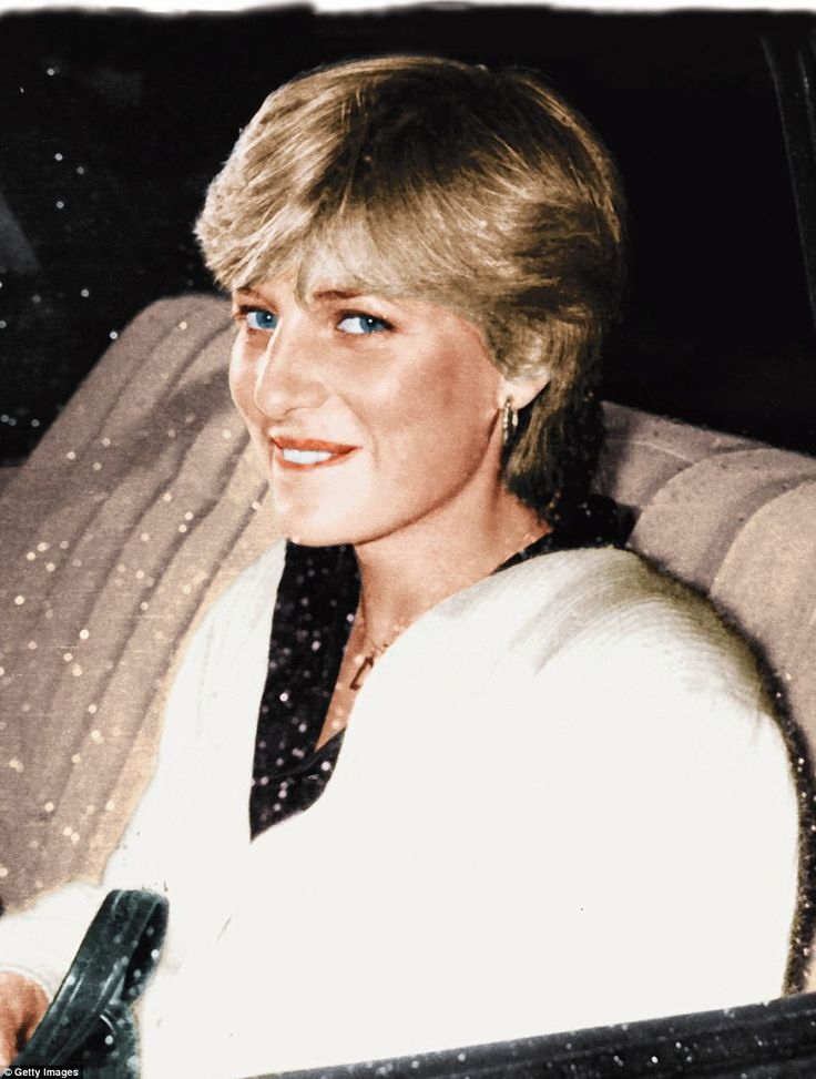 Being driven from her bachelor girl flat to Clarence House. The following day the Palace announced she was engaged to marry the Prince of Wales
