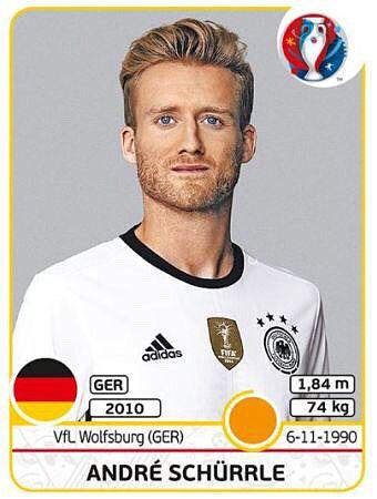 André Schürrle Eurocup 2016 France - die Mannschaft