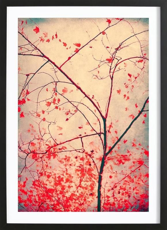 red october as Framed Poster by Ingrid Beddoes | JUNIQE
