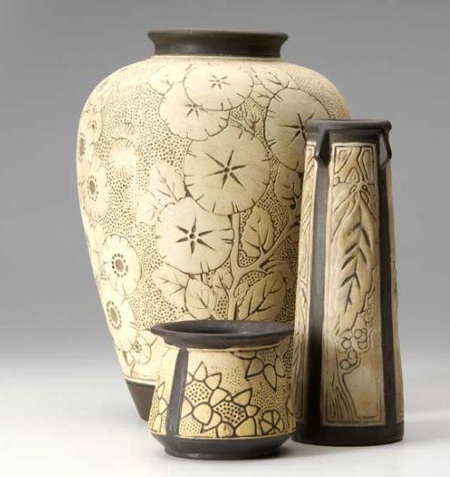 Download Wallpaper Weller Vase Patterns Full Wallpapers