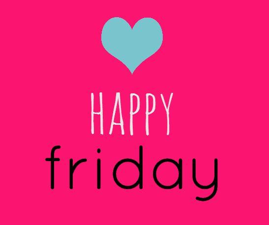 Have a wonderful #Friday...