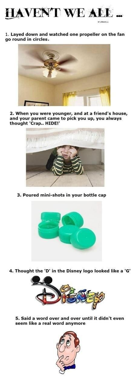 Weird things we all do.. - funny pictures - funny photos - funny images - funny pics - funny quotes - funny animals @ humor
