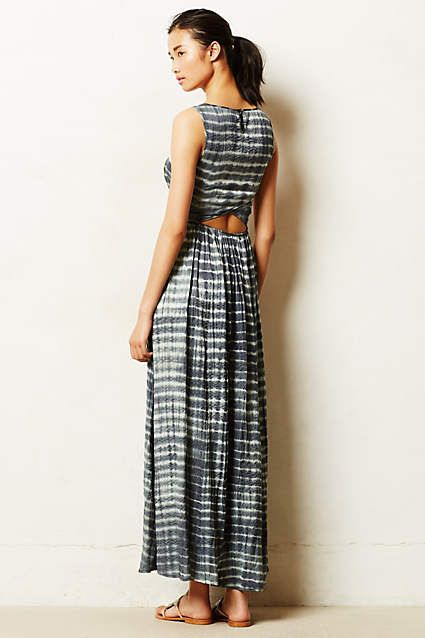 Shibori Maxi Dress. Inspirational image only. Item sold out. Awesome dress in beautiful fabric.