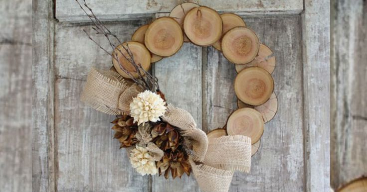 13 Home decor ideas using wood slices | Home Decorating