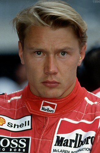 Ex-Formula 1 ace Mika Hakkinen was at Gleneagles today on course ...