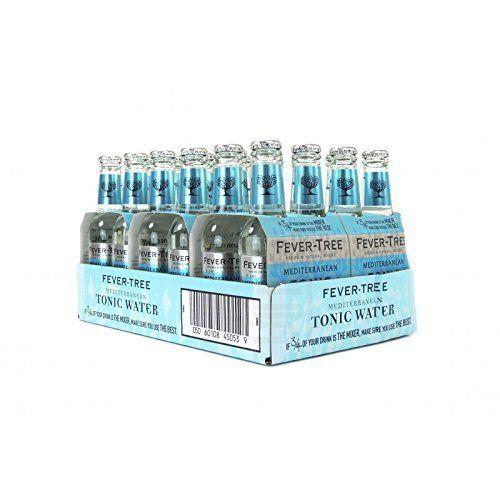 Fever Tree Mediterranean Tonic Water, 200ml, 24 Bottles F...…