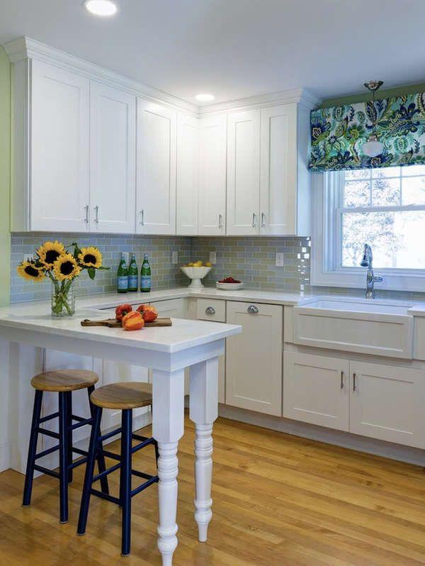 15 Small Kitchen Island Ideas That Inspire Small Kitchen Island