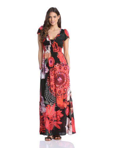 In Offerta! #Offerte Abbigliamento#Buoni Regalo   #Outlet Desigual - Élgic Vestito, manica corta, donna, Rosso (Rot (Rojo Fresa)), 44 IT (produttore: 40) disponibile su Kellie Shop. Scarpe, borse, accessori, intimo, gioielli e molto altro.. scopri migliaia di articoli firmati con prezzi da 15,00 a 299,00 euro! #kellieshop #borse #scarpe #saldi #abbigliamento #donna #regali