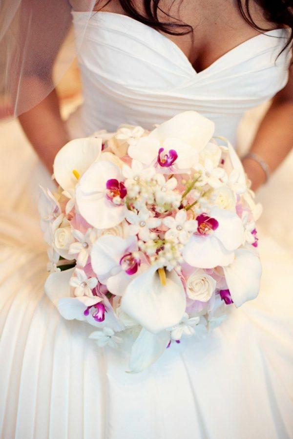 Bouquet de mariée classique