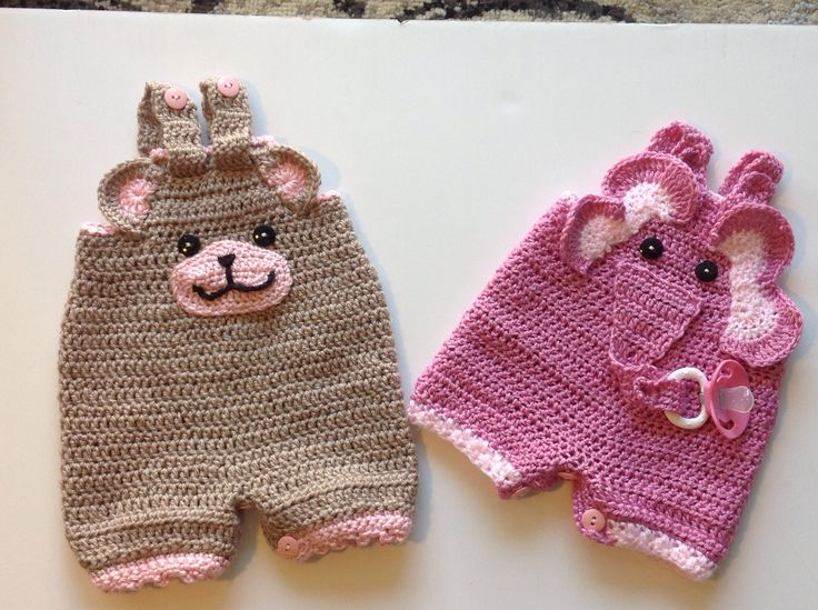 Crochet infant rompers, Crochet Patterns Pinterest