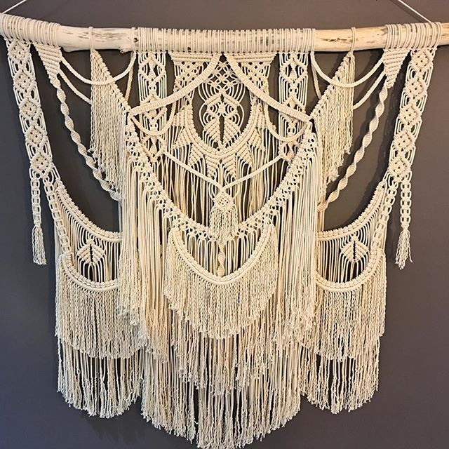 Best 25+ Macrame curtain ideas on Pinterest | Bead ...