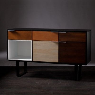 Southern Enterprises Ventnor Multi Color Credenza