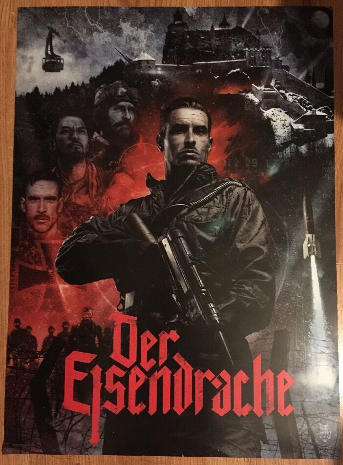 New Call Of Duty Zombies Black Ops 3 Der Eisendrache Poster Fast Shipping Codz from $14.98