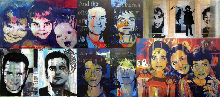 Portraits Collage, visit my amazing site! www.martinanagnostou.com