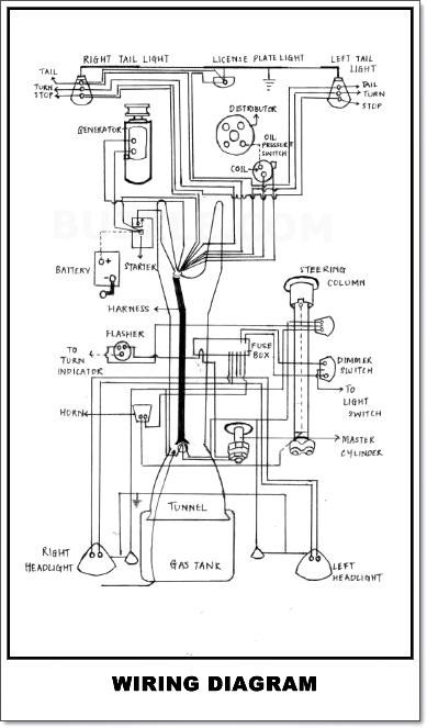 vw dune buggy engine wiring diagram