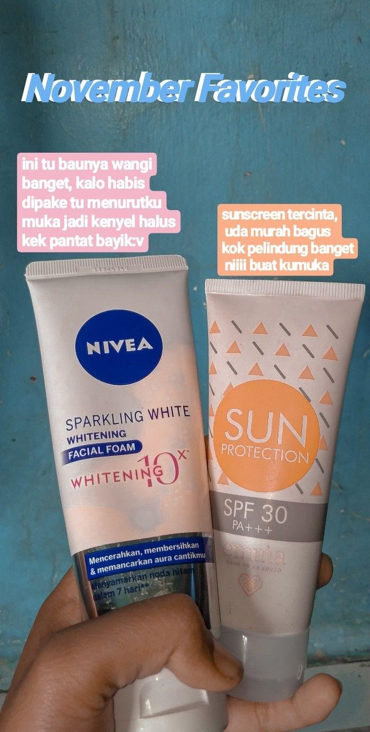 Rangkaian Produk Nivea Sparkling White Dan Harganya : rangkaian, produk, nivea, sparkling, white, harganya, Skincare, Routine, Perawatan, Kulit,, Produk, Kulit, Alami