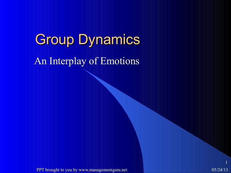 group-dynamics-21830442 by ManagementGuru Net via Slideshare