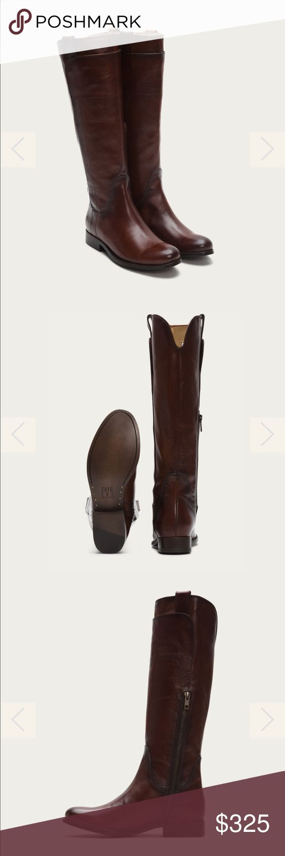 New in Box Frye Melissa Tall Leather Boots 7.5 New in Box Frye Melissa Tall Leather Boots 7.5 . Redwood color. No trades/no pp. Frye Shoes