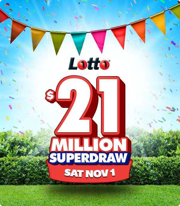 It's that time again - Saturday Superdraw! Giddy Up and Get your ticket for tomorrow's $21,000,000 Superdraw! Imagine how you would spend Melbourne Cup if you won!!