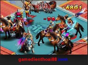 Game Vo Lam online tren dien thoai