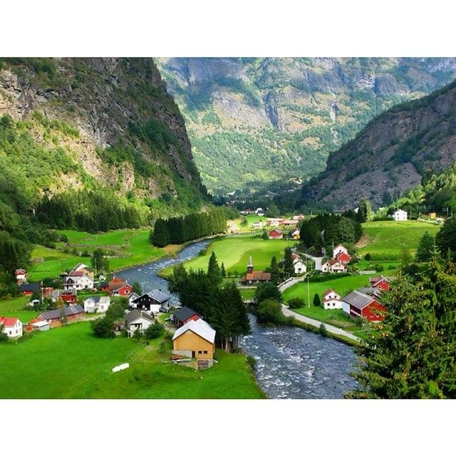 Flam Village ~ Norway- #Padgram