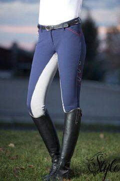 HKM telibőrös női lovaglónadrág Performance by Pro-Team
