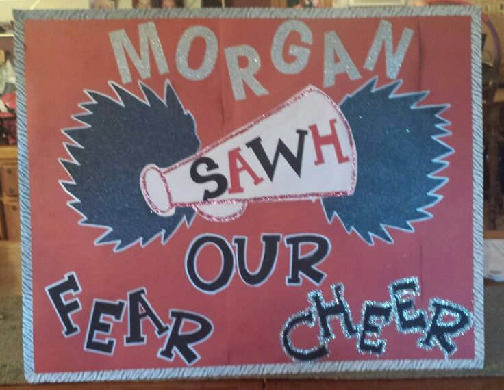 Cheer poster for competition!!