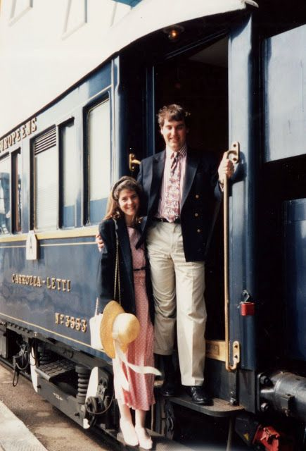 All aboard the Orient Express for adventure and romance