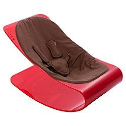 Bloom Coco Plexi Red Frame with Organic Seatpad (New) (henna brown)