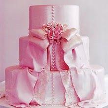 So pretty: Wedding Dressses, Pink Wedding Dresses, Pink Cakes, Pink Ribbons, Pink Bows, Shower Cakes, Wedding Cakes, Bridal Shower, Weddingcak