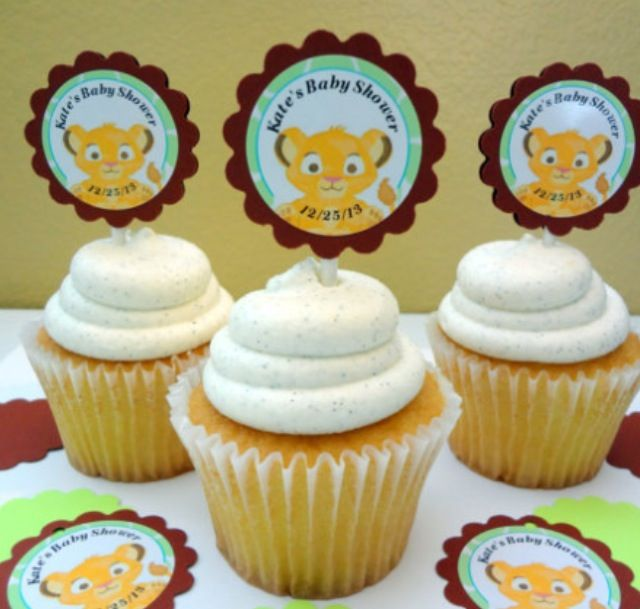 More Lion King Cupcakes