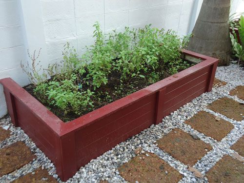 Cement Board Wood Garden